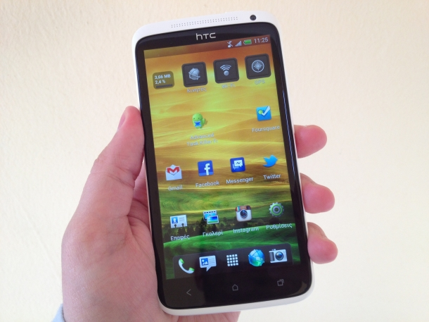 HTC One X - Melhores Smartphones Android