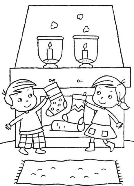 Desenhos De Natal Para Colorir Online24