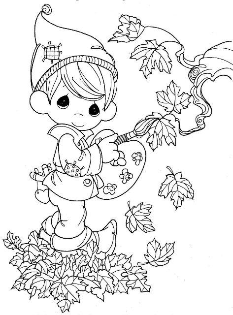 desenhos de outono