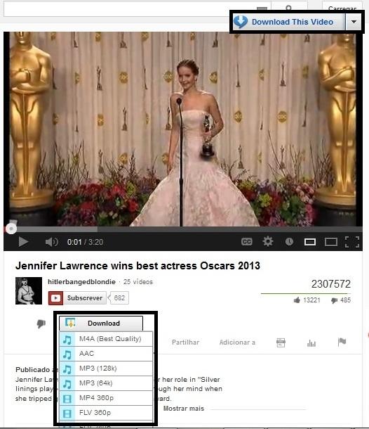 download de videos do youtube