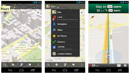 Google Maps - Melhores Apps Android