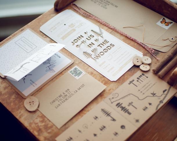 Ideias para Casamentos Originais - convites
