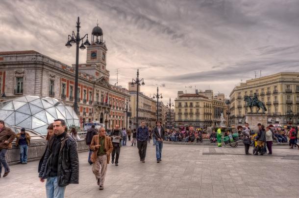 Puerta del Sol - o que visitar em Madrid